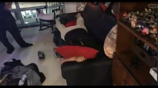 Ice Poseidon finds mexican Andy sleeping on his couch [24-03-2017]