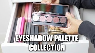 My Eyeshadow Palette Collection 2017