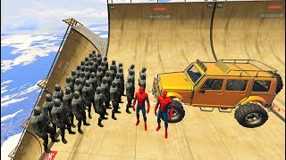 GTA 5 Crazy Ragdolls Spiderman Vs Black Panther Compilation vol.3(GTA 5 Euphoria Physics Fails Funny