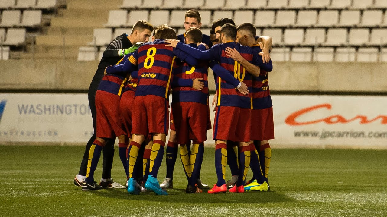 Barcelona starlets flaunt talent in La Masia 'goals of the month'