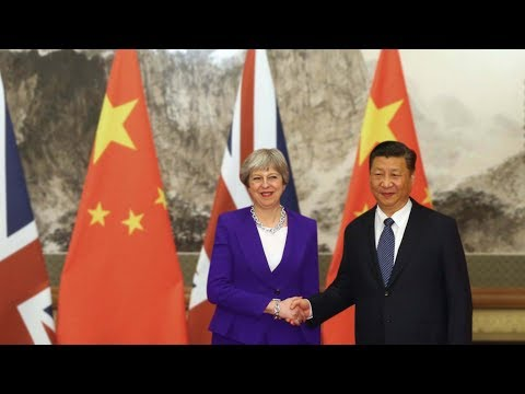 British PM Seeks China-UK 'Golden Era'