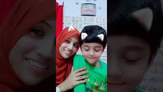 Sweet Baby Hayat with Mamma#beautiful Hayat#mamma's heartbeat Hayat