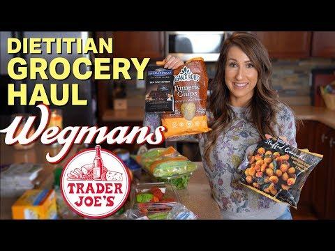 Dietitian Trader Joe's & Wegmans Grocery Haul