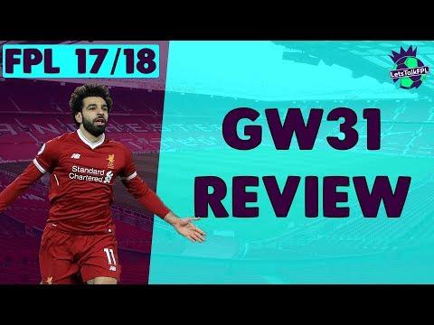 WILDCARD ACTIVE + SALAH SCORES 4! | Gameweek 31 Review | Fantasy Premier League 2017/18