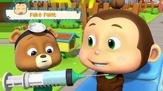 Falso Desmaiar | Vídeo Engraçado Para Crianças | Loco Nuts | Fake Faint | Kids Tv Português
