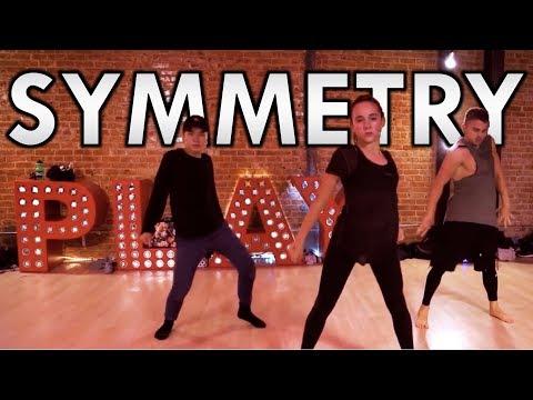 Symmetry ft Maddie & Charlize by Wolfie   Brian Friedman Choreo   Playground LA
