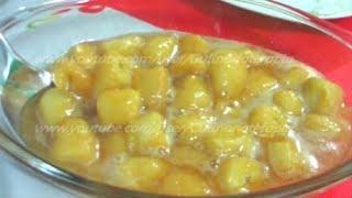 Sobremesa de Banana com Laranja por Culinariaterapia