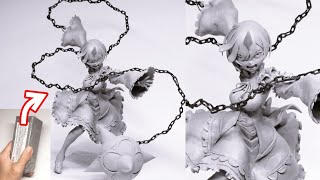 【リゼロ】鬼化レムのフィギュアを作ってみた【粘土】the Making of Remu Figure - Re:ZERO -Starting Life in Another World.