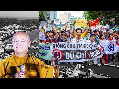 TT. Thích Nhật Từ trả lời về cuộc biểu tình Luật Đặc Khu Kinh Tế