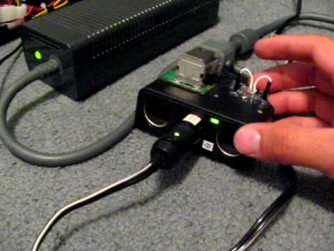 XBOX 360 Power Supply to 12V Accessory Adapter: 18 Steps Xbox Slim Internal Fuse on
