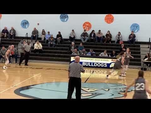 "Weirton Madonna High School Junior Center 6'1"" Alaina Moore girls basketball highlights"