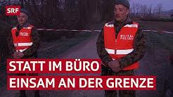 Wegen Coronakrise: Milizsoldaten bewachen die Schweizer Grenze | SRF News