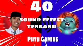 Kumpulan Sound Effect Terbaru Putu Gaming |Sound Effect Youtuber EXE/Part 1
