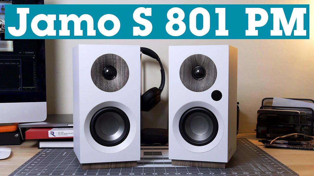 Jamo S 801 Pm Powered Speakers Crutchfield Youtube