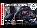 Abarth 595 Turismo (2016) | POV Test Drive #SaliteaBordo