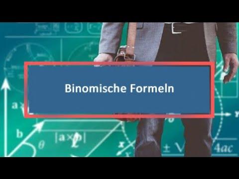 3 binomische formel nochmal ganz langsam lernwerk tv. Black Bedroom Furniture Sets. Home Design Ideas