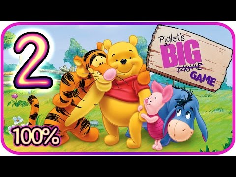 Piglet's Big Game Walkthrough Part 2 (PS2, Gamecube) Roo's Dream Part 1 [100% - HD]