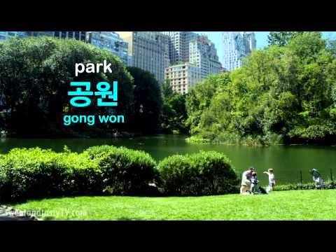 PLACES IN THE CITY in Korean (KWOW#33)