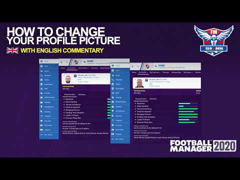 FM20 | How to change your profile picture