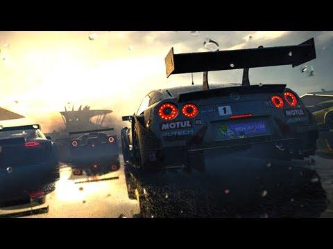 Forza Motorsport 7 Demo PC 60 fps - NISSAN GT-R + Chuva em Nurburgring! (G27 mod)
