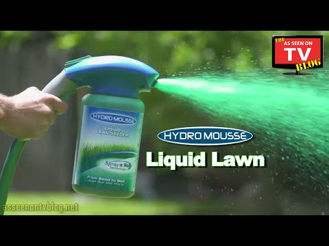 Hydro Mousse As Seen On TV Commercial Buy Hydro Mousse As Seen On TV Spray On Grass Seed