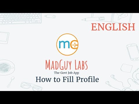 Fill Profile Details : MadGuy - The Govt Job App