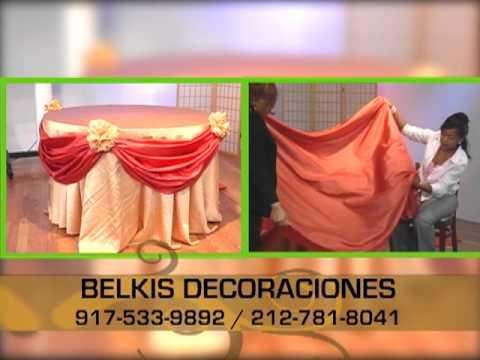 decorando con belkys decoracion de mesa para eventos