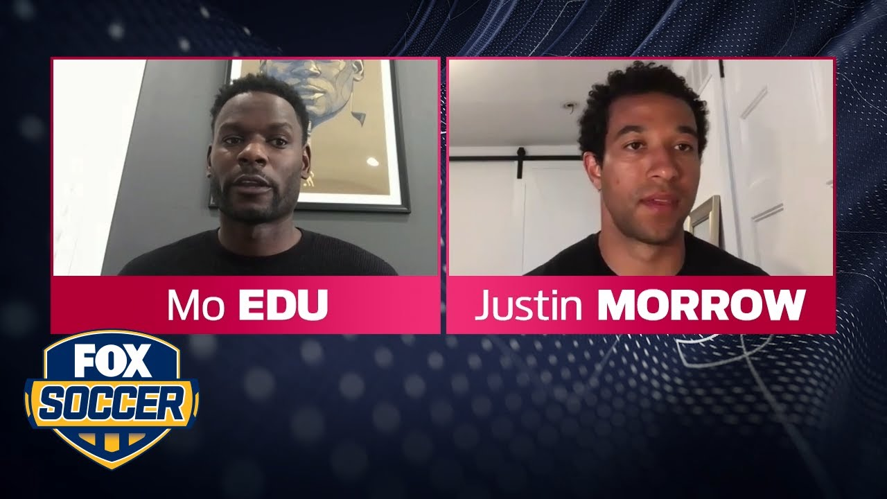 Morrow on MLS Black Players Coalition: Take something negative & turn it into a positive  FOX SOCCER
