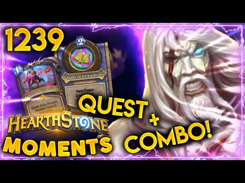 So THAT&39;S HOW YOU PLAY The Warlock Quest  Hearthstone Daily Moments Ep1239