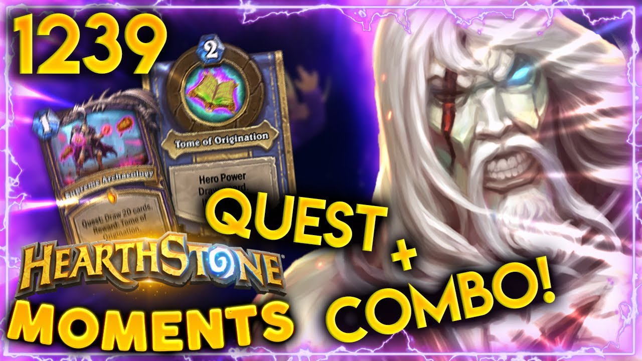 so that s how you play the warlock quest hearthstone daily moments ep 1239 youtube youtube