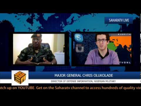 """If Anybody Says [Abubakar Shekau] Is Alive, Let Him Produce Him""-Major General Chris Olukolade"