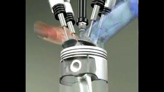 видео Четырехтактный двигатель как работает