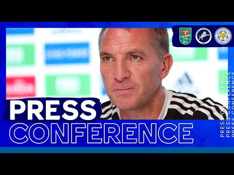 """""""I Want To Do Well In The Cup Competitions"""" - Brendan Rodgers 