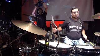 festival de bateristas ufip day fernando cavero drum cam