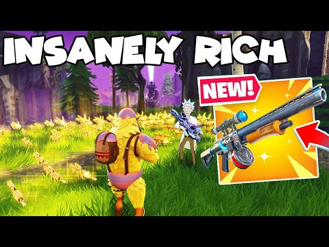 Insanely Rich Scammer Loses Whole Inventory! 💯😱 (Scammer Gets Scammed) Fortnite Save The World
