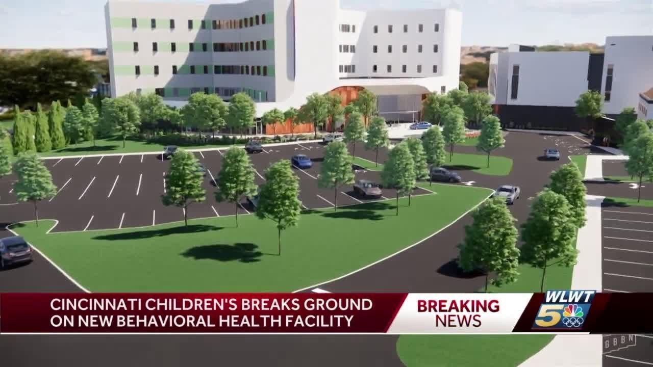 Cincinnati Children's breaks ground on behavioral health facility