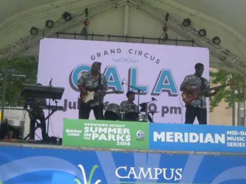 The True Love Band @ Campus Martius Downtown Detroit