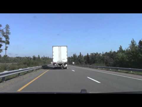 New Brunswick Route 2 (Trans-Canada Highway) - Fredericton to Nova Scotia