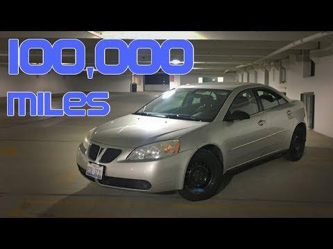Pontiac G6 – 100,000 Miles Of Ownership