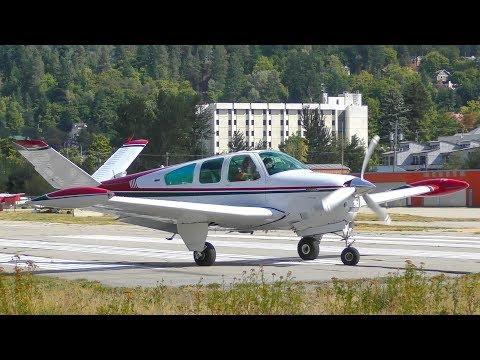 Beechcraft V35B Bonanza Takeoff