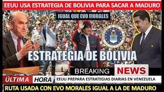EEUU usa estrategia de Bolivia para sacar a Maduro