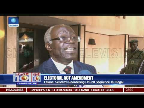 Falana Says Senate's Reordering Of Polls Sequence Is Illegal