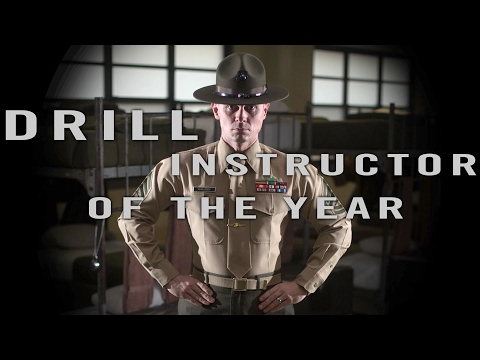 Marine Corps Drill Instructor Of The Year