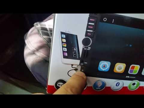 Магнитола на андройде в УАЗ Патриот 2015