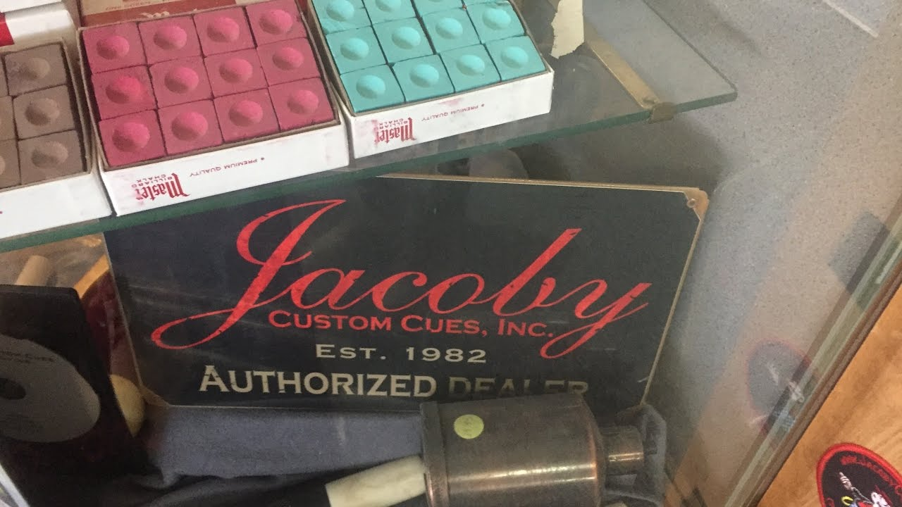 Jacoby Custom Cues