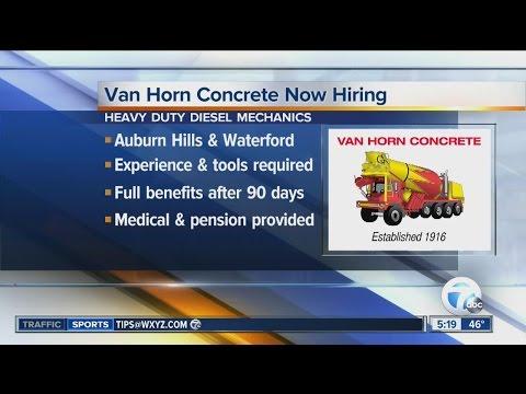 Workers Wanted: Van Horn Concrete now hiring