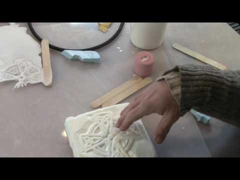 diymolds.com - 305 Smooth On Casting Resin Celtic Sun Cross Tooling Master