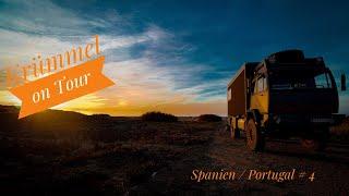 Krümmel on Tour/ Spanien, Portugal #4/ Steyr 12m18/ Womo /Offroad