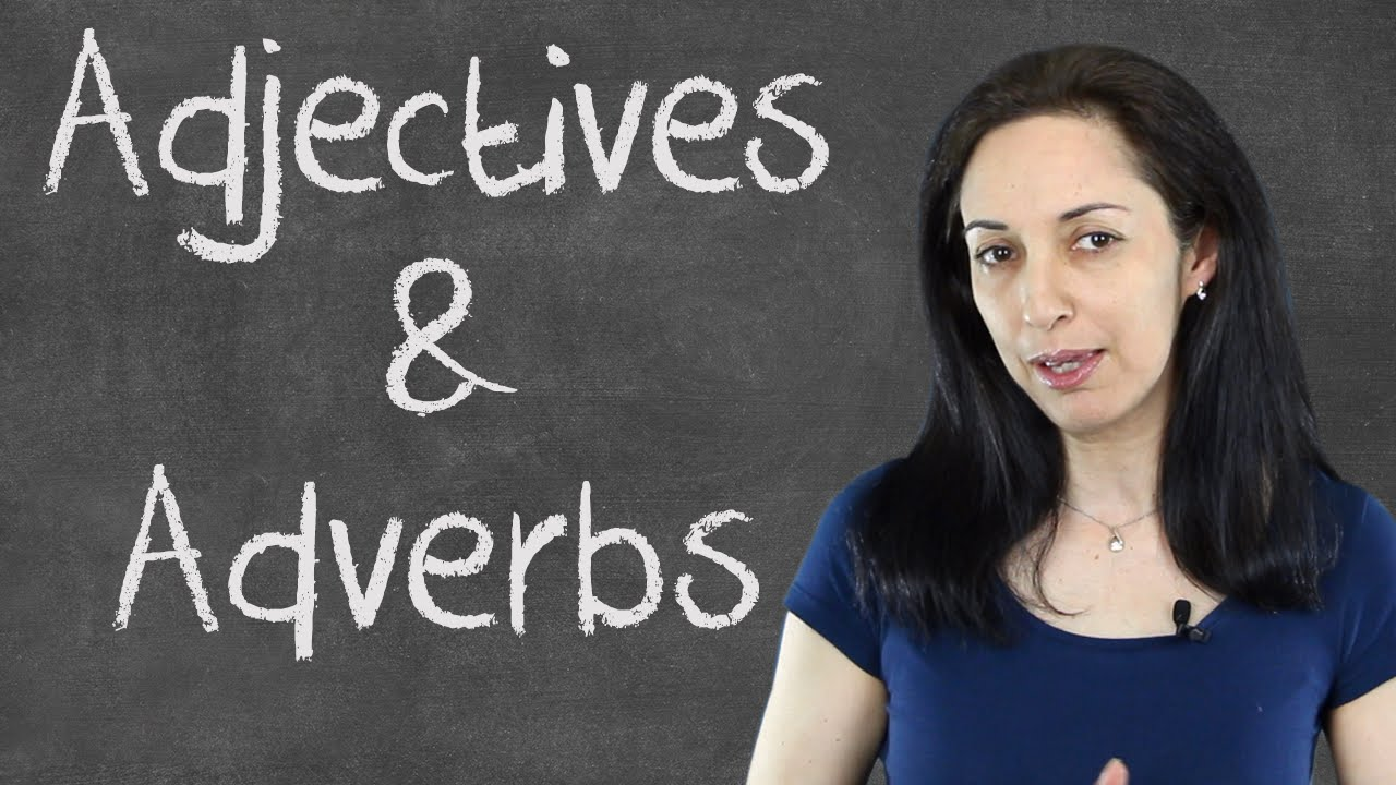 small resolution of Common Mistakes with Adjectives \u0026 Adverbs - English Grammar Lesson - YouTube