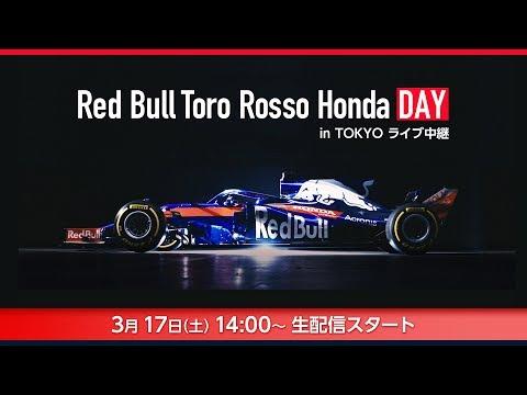 Red Bull Toro Rosso Honda DAY in TOKYO ライブ中継